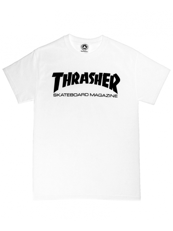 Thrasher - Thrasher Skate Magazine Tee in White