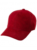 DS|LINE - Trucker Strapback Suede Rouge / Or