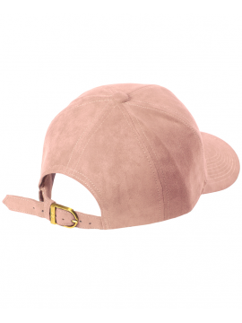 DSLINE Trucker Strapback Rose Suede / Or