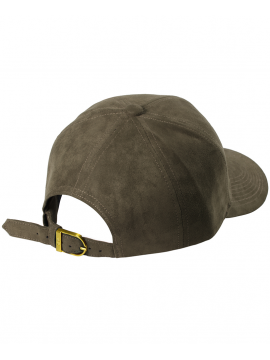 DSLINE Trucker Strapback Suede Taupe / Or
