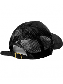 DSLINE Trucker Baseball Noir Suede / Or