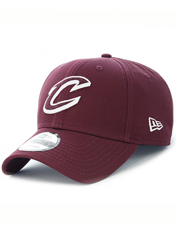 New Era Casquette 9Forty Felt Infill Cleveland Cavaliers Bordeaux
