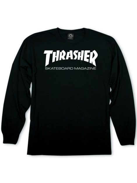 Thrasher Skate Mag Long Sleeve Tshirt Black