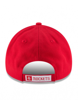 New Era 9Forty The League NBA Rockets Adjustable Hat Red