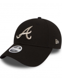 New Era 9Forty Women Essential Atlanta Braves Black