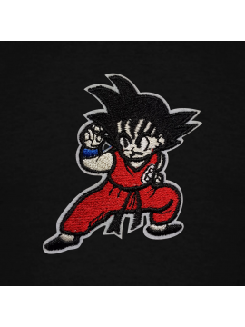 RXL Paris Goku Embroidered Patch Hoodie Black
