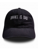 RXL Paris Drake Is Dad Dad Hat Black