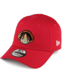 New Era 9Forty X RXL Paris Luffy Custom Patch Hat Red