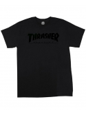 Thrasher Magazine Logo T-Shirt Black