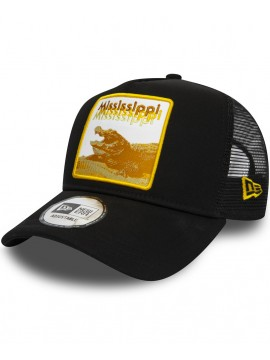 New Era - Mississippi Gator Trucker 9Forty Black