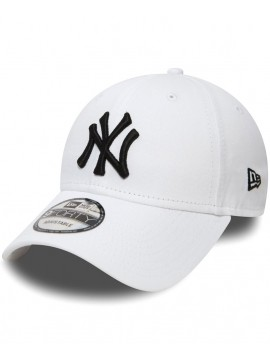 Casquette New Era 9Forty NY Yankees League Basic 940 Blanc