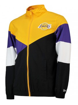 New Era NBA Lakers Retro Colour Block Track Jacket