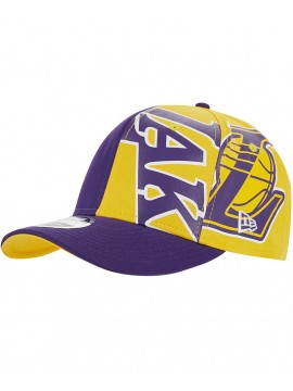New Era 9Fifty Los Angeles Lakers NBA Retro Pack Trucker