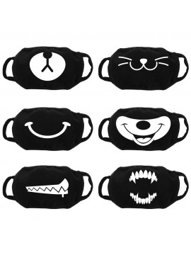 Custom Mouth Face Mask - Double Layer Cotton
