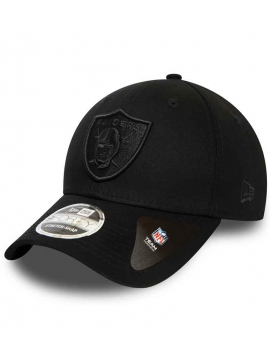 Casquette Raiders New Era 9Forty Stretch Snap All Black