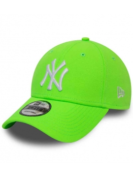 Casquette New Era 9Forty NY Yankees League Essential 940 Vert Fluo