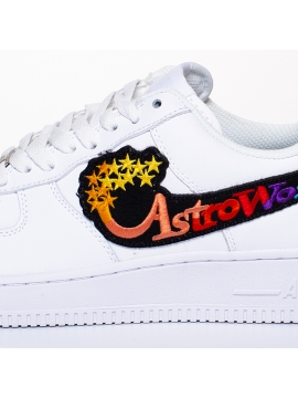 Remix Line Custom - Nike Air Force 1 Astroworld Custom