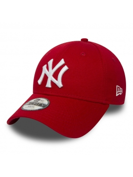 Casquette Enfant New Era 9Forty NY Yankees Essential Rouge