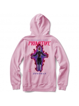 Primitive Skate Sweat Capuche Goku Black Rose Rose