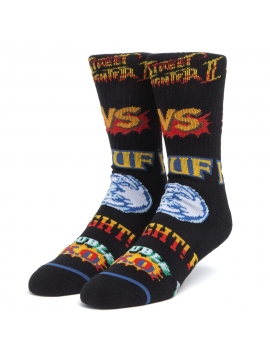 Chaussettes HUF X STREET FIGHTER Graphic Noir